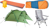 Outdoor, Trekking and Camping-Gear