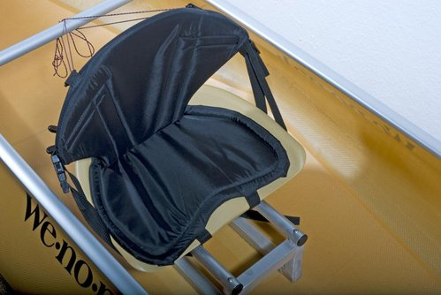 Backrest for Canoes for Bucket Seats