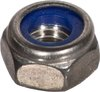 Blue Ring Nuts V2A DIN985