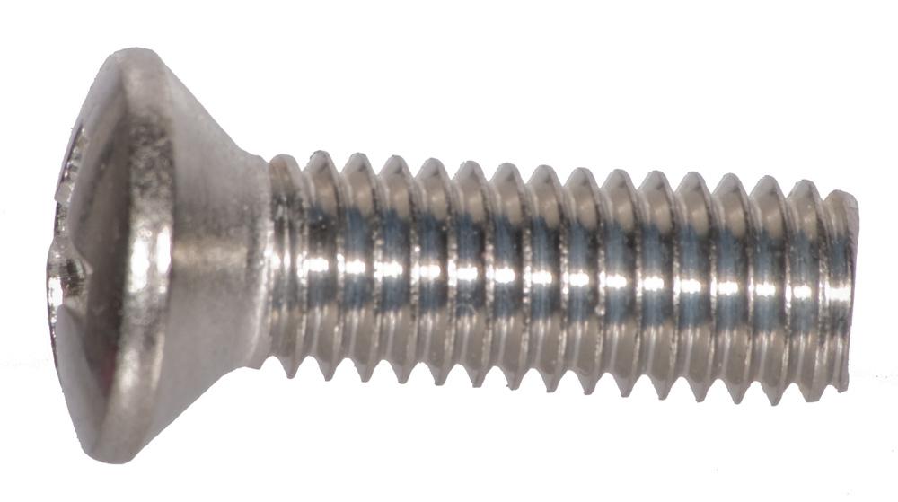 DIN 7985 Edelstahlschrauben mit Flachkopf rostfrei Edelstahl VA A2 V2A AGBERG M6x10 mm ISO 7045 Linsenkopf-Schrauben mit Kreuzschlitz H 10 St/ück