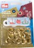 15 Eyelets 11mm with Rings and Tool