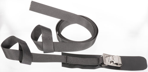 Helmi Straps 25mm for Cartwheels with heavy Stainless-Steel-Buckles
