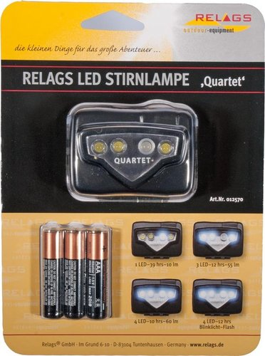 LED Headlamp Quartet - on demand