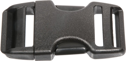 Dual Snap Buckle 25mm Plastic