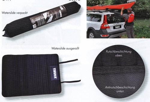 Thule Waterslide Mat - Slide the Boat onto the Roof-Rack