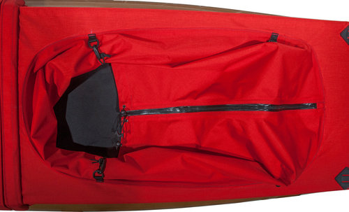 Helmi Option watertight Zipper for Spraydecks with Fixing Loops