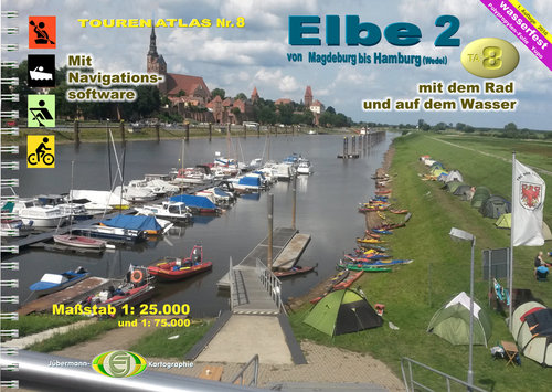 Wassersport Tourenatlas TA8 in der 1. Auflage 2016