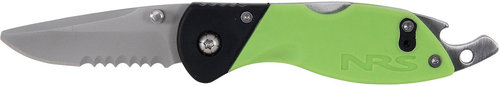 NRS Green Knife Rescue Knife