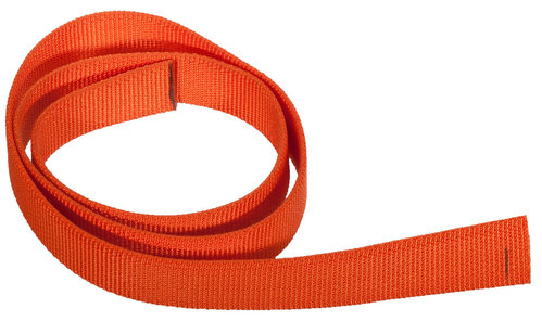 Webbing 25mm Cut of 80cm orange