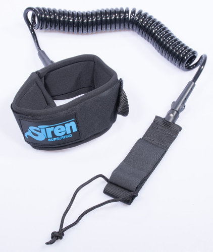 Siren Coiled SUP Leash for Knee or Leg