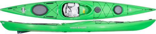 Wavesport Hydra Core Whiteout 452 with Skeg