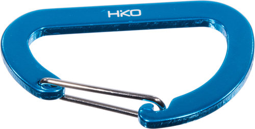 Hiko Carbine Hook Aluminium asymmetrical 72mm - Not for Climbing